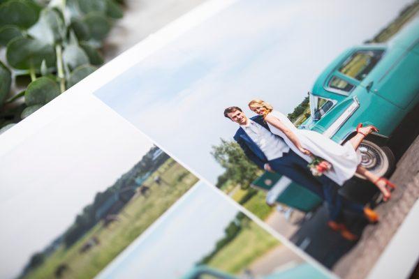 Wedding Album Spread Printing Example